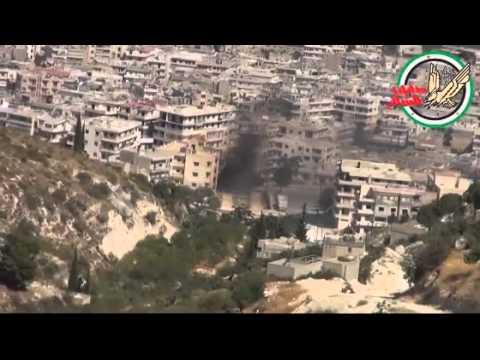صقور الشام معركة اريحا 28-8-2012 Sham Falcons in Ariha