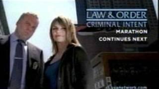 Law & Order: Criminal Intent Marathon USA Network Promo