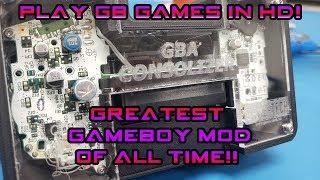 HDMI Game Boy Mods That You