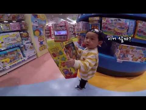 [Gopro고프로] Toykingdom in Shinsegae Daegu 대구 신세계 토이킹덤