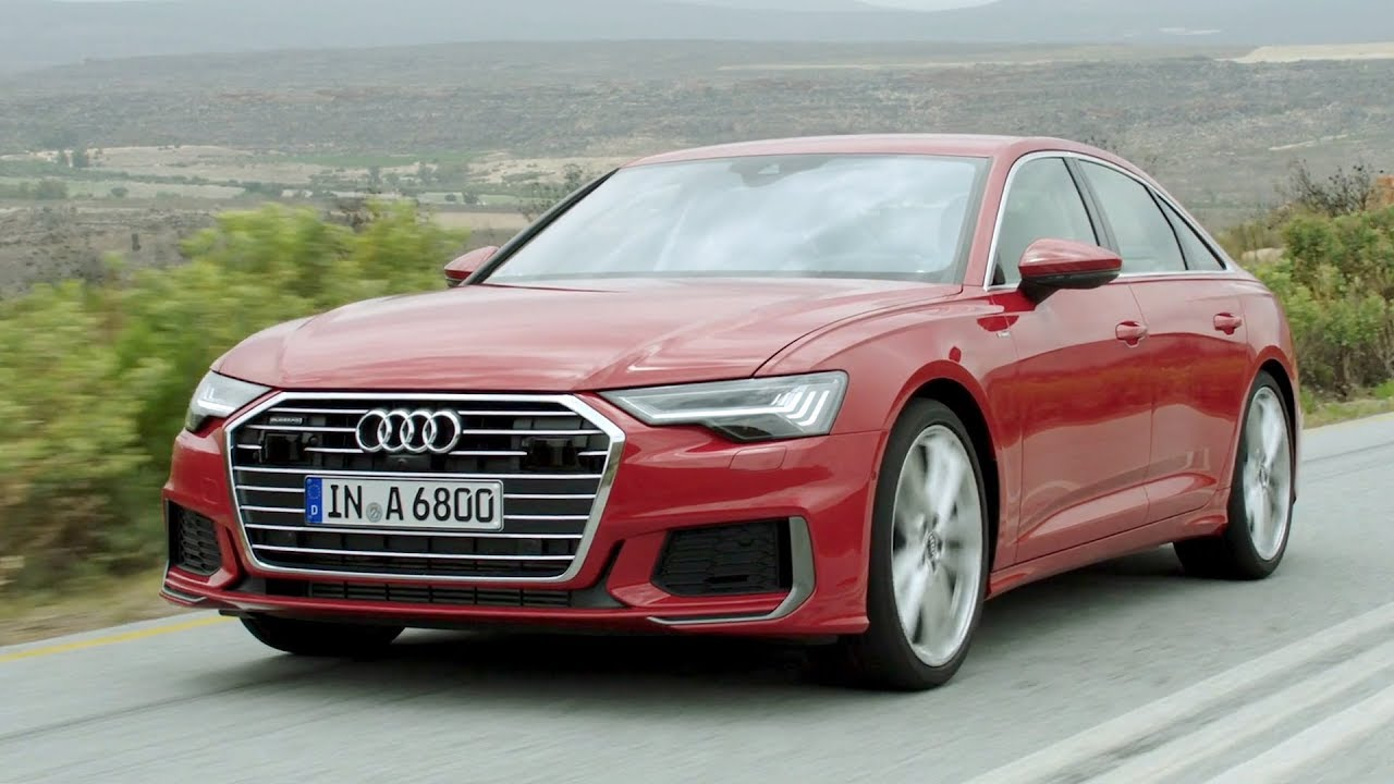 2019 Audi A6 Driving Interior Exterior Youtube