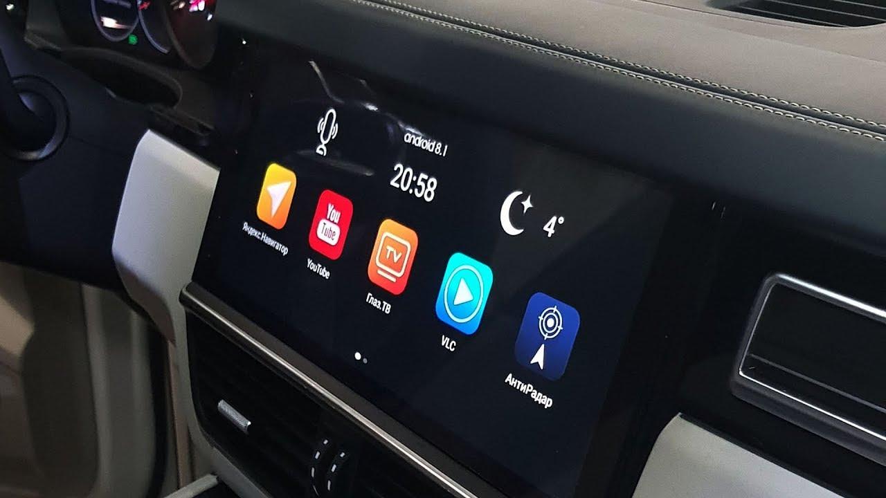 Android Porsche Cayenne 2019