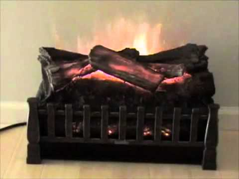 "http://ElectricFireplacesDirect.com - The DuraFlame 20"" Electric Fireplace Log Set Insert is built for existing fireplaces looking to be upgraded to an elect..."