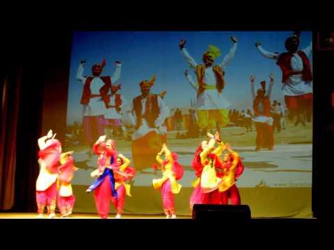 Jhanjran-Bhangra -punjabi dance by  Vasanta group (Russia,Tver)