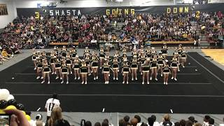 enterprise high school cheer RIVERBOWL RALLY 10/19/18