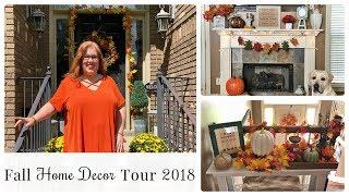 Fall Home Decor Tour 2018