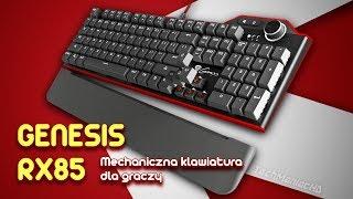Genesis RX85 Mechaniczna Klawiatura RGB LED [Unboxing, Test i Recenzja]