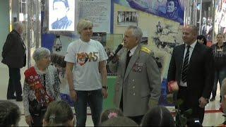 Выставка ГТО. Герои войны и спорта