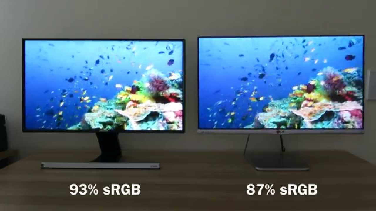 Samsung S24d590 Vs Lg 24mp76 Comparison And Review Youtube Monitor Ips 25ampquot 25um58p