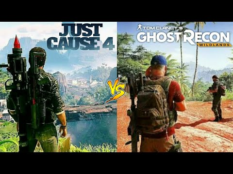 Just Cause  4 Vs Tom Clancy Ghost Recoms Comparison/FOREVER GAMING