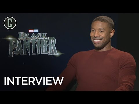 Black Panther Interview: Michael B. Jordan on Creating Erik Killmonger's Backstory