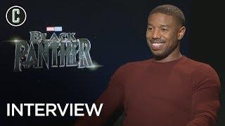 Black Panther Interview: Michael B. Jordan on Creating Erik Killmonger's Backstory