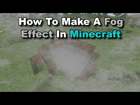(Easy Trick) How To Make A Fog Effect In Minecraft! - Minecraft Tutorial