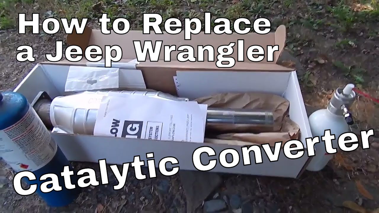 small resolution of jeep wrangler catalytic converter replacement
