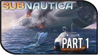 "Subnautica Gameplay Part 1 - ""surviving Seaworld!"" (survival Gameplay)"
