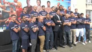 MATCHROOM BOXING MEDIA DAY 2012 - BOXER'S PHOTO CALL / iFILM LONDON