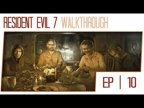 Resident Evil VII Biohazard Gameplay Walkthrough - Part 10 (Featuring Porkinz!)