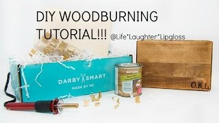 Diy Woodburning Chopping Boards | Darbysmart