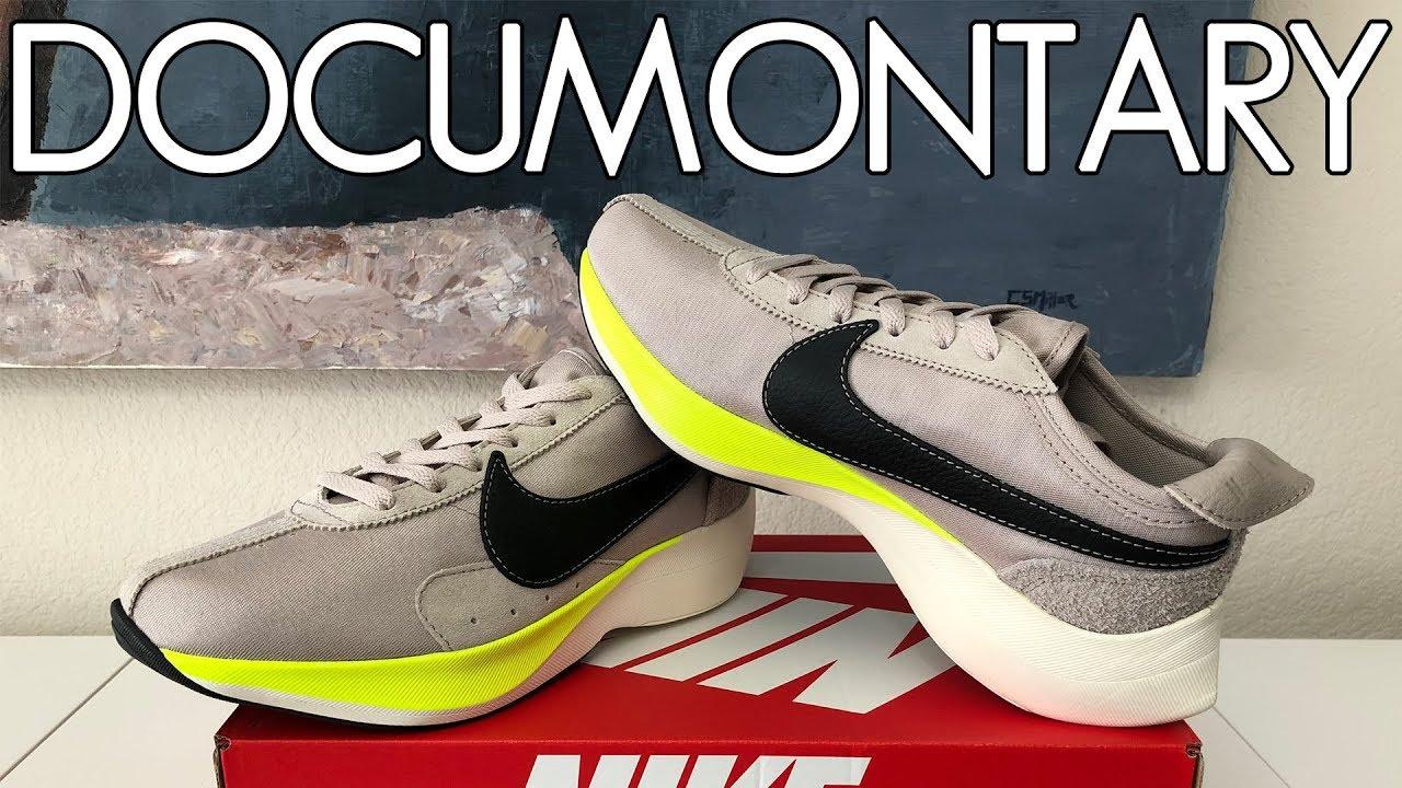 34f1ac8de550 Nike Moon Racer Sail Black Volt • Review   On-Feet