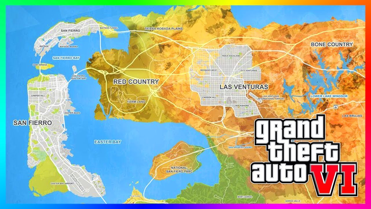 Grand Theft Auto 6 Leaker Reveals Details On The Map, Main Characters,  Story Mode & MORE! (GTA 6)