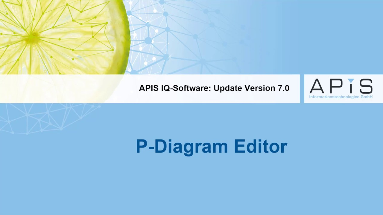 New features: P-Diagram Editor - YouTube