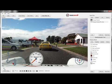 RaceRender Tutorial 1 Using RadCAM HD30G - YouTube