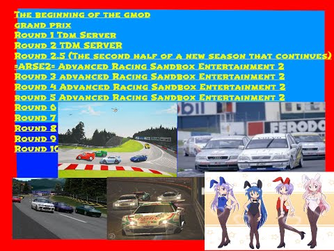 Advanced Racing Sandbox Entertainment Grand Prix (Overpowered sports cars) round 2.5