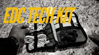 EDC Tech Kit Electronics Survival Pouch Everyday Carry BUMB Organizer Travel Urban City Commuter