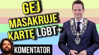 Gej Masakruje Kartę LGBT Prezydenta Warszawy Trzaskowskiego - Szkodzi Dzieciom - Analiza Komentator