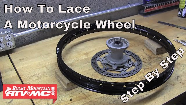 How To Lace A Motorcycle Wheel Rocky Mountain ATV/MC - YouTube