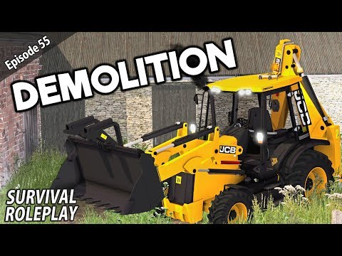 YARD DEMOLITION | Survival Roleplay | Episode 55 thumbnail