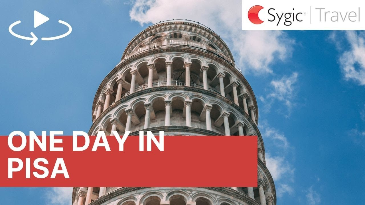 One day in Pisa: 360° Virtual Tour with Voice Over