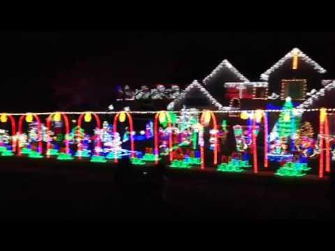 xmas lites log run dr s indianapolis rick warrum - Christmas Lites