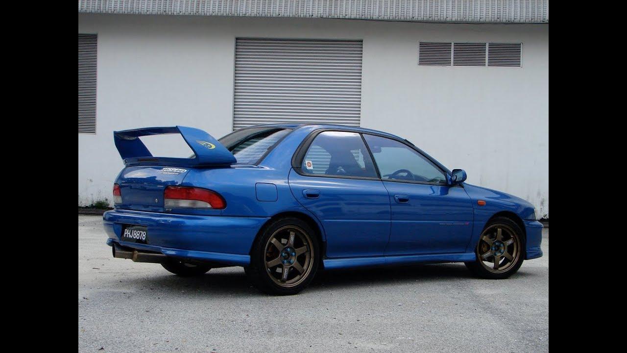 Subaru Wrx Sedan >> Subaru Impreza STi GC8 launch - YouTube