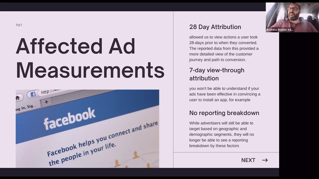 The impact of iOS 14 privacy on Facebook & Google Marketing by Dante St James