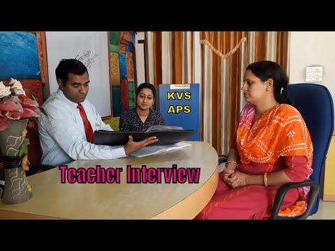 Teacher Interview DEMO Class : #KVS : #APS