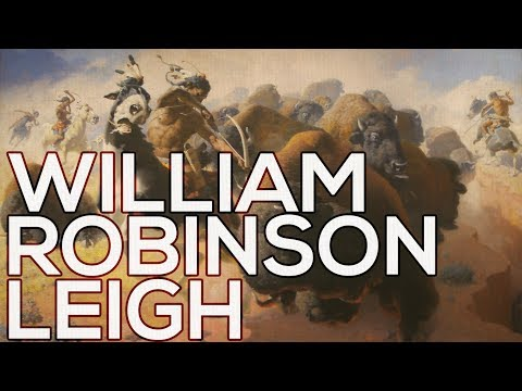William Robinson Leigh: A collection of 104 paintings (HD)