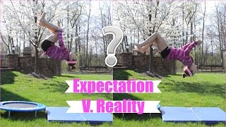 Gymnastics Expectation Versus Reality