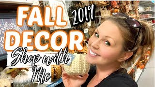 🍁NEW FALL DECOR 2019 | 🎃 HALLOWEEN DECOR | AT HOME SHOP WITH ME