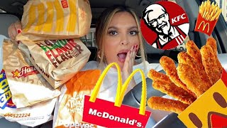 طلبت أكل من كل مطاعم الوجبات السريعة في مدينتي!!!!😱... دفعت كام؟ 💔😳