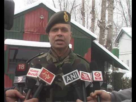 Video: ARMY PRESS CONFRENCE AT 1ST RR RR KHANBAL ANANTNAG