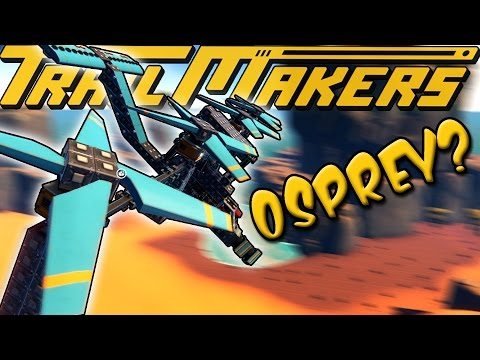 V-22 OSPREY HELICOPTER?! - TrailMakers Gameplay Ep11