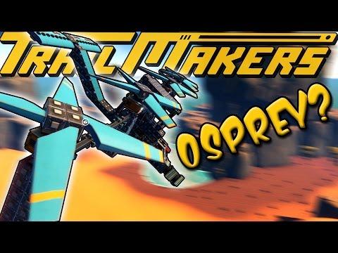 V-22 OSPREY HELICOPTER?! - TrailMakers Gameplay Ep11