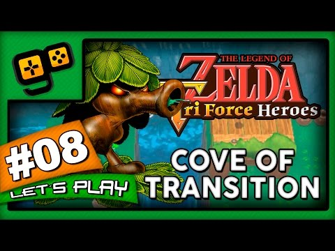 Let's Play: Zelda TriForce Heroes - Parte 8 - Cove of Transition