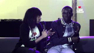 ILUVLIVE Joe Black Interview 7 NOV 2011 @ XOYO