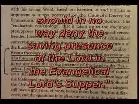 The Amazing Heresies of Benedict XVI part 3 of 7