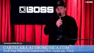 Workshop BOSS RC-30 con Crea Beatbox, En Vivo!!