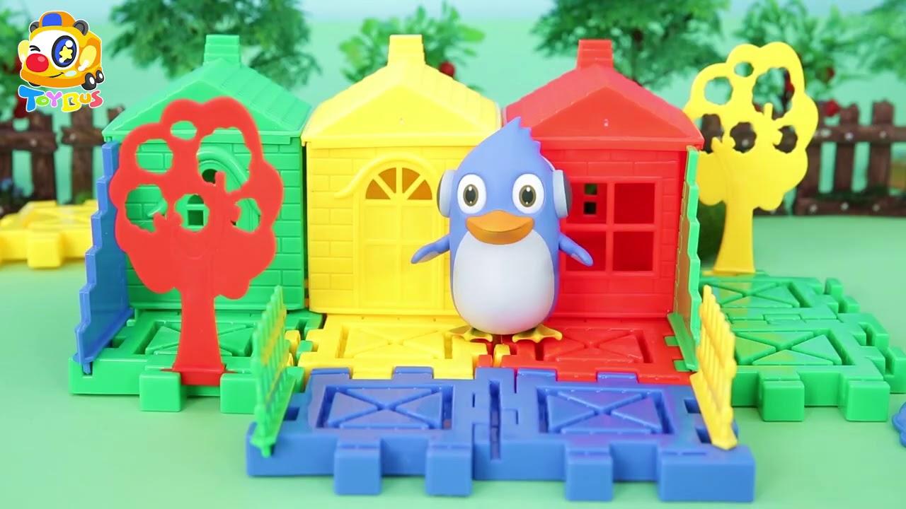 快來尋找丟失的寶石箱 | 寶寶玩具 | 兒童玩具 | 玩具巴士