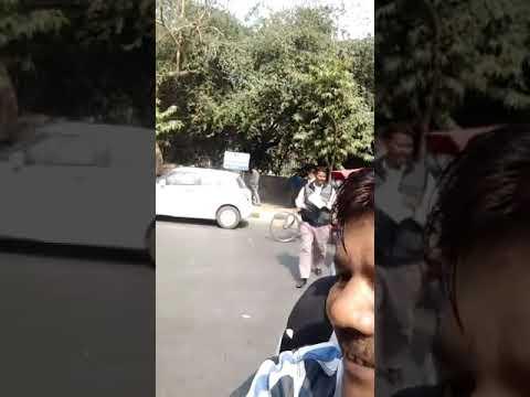 Dharna ola uber and delhi govt 16/2/2018(12)