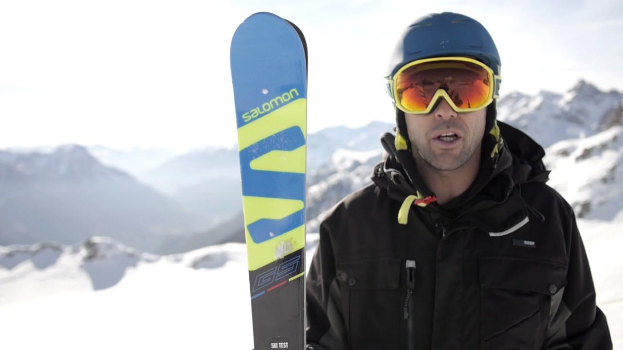Preparación Atticus coger un resfriado  Mister Test] Essai du ski Salomon - X Race Lab 175 - YouTube
